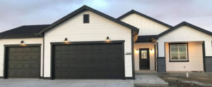 completed front of house | crosswinds construction | Gillette, Wyoming