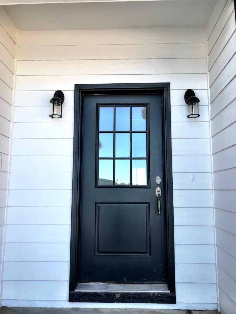 front door | crosswinds construction | Gillette, Wyoming