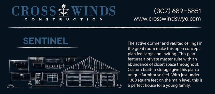 sentinel home header | crosswinds construction | Gillette, Wyoming