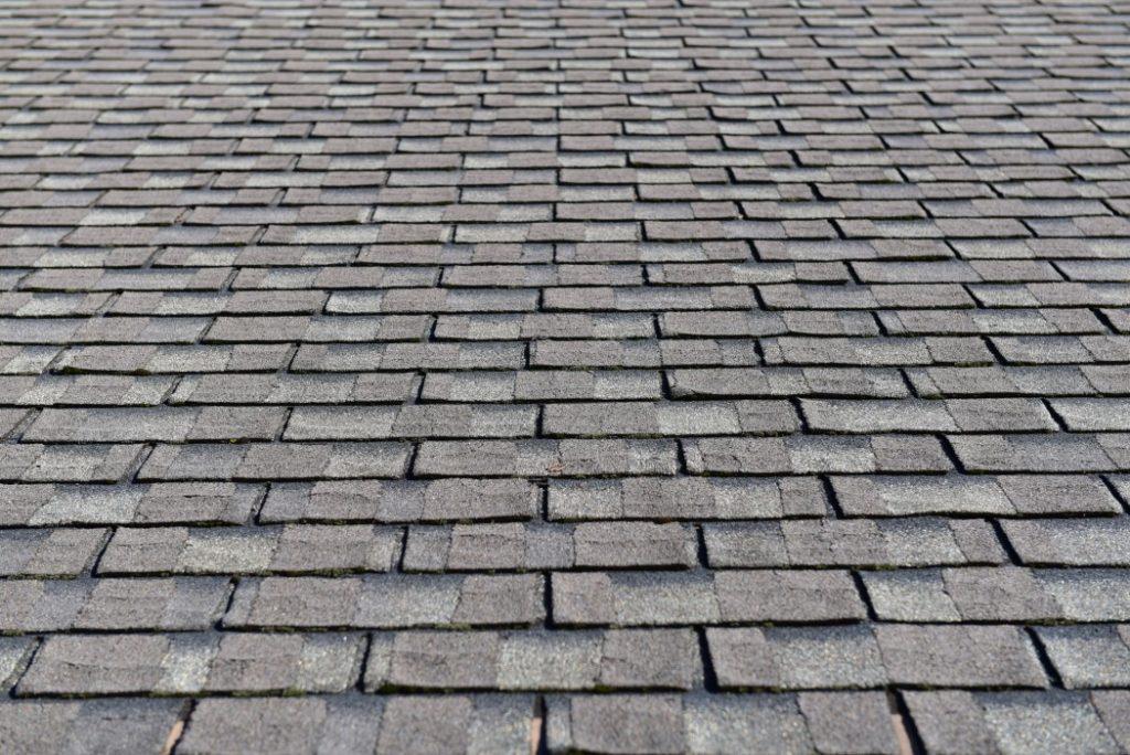 shingles on house